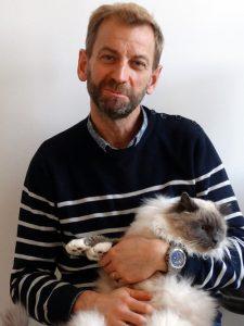 Dr Sylvain Herrmann, créateur de l'Hôtel Félin Normandie